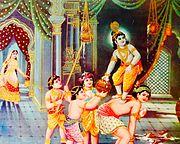 Krishna as theif