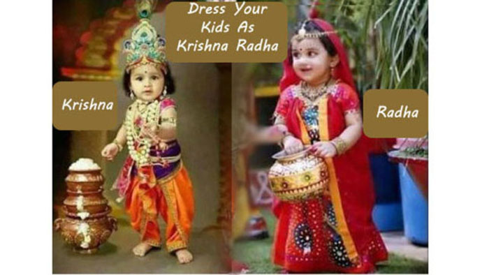 How To Dress Your Child As Krishna And Radha