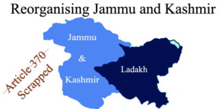 Reorganising Jammu and Kashmir