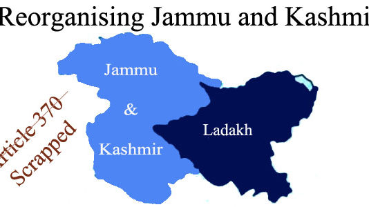 Reorganising Jammu and Kashmir