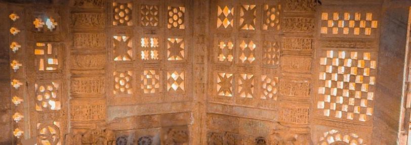 Interior of Vijaya Stambha