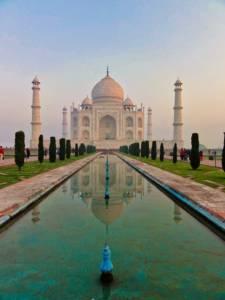 Taj Mahal Fountain
