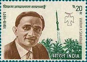Vikram Sarabhai Stamp