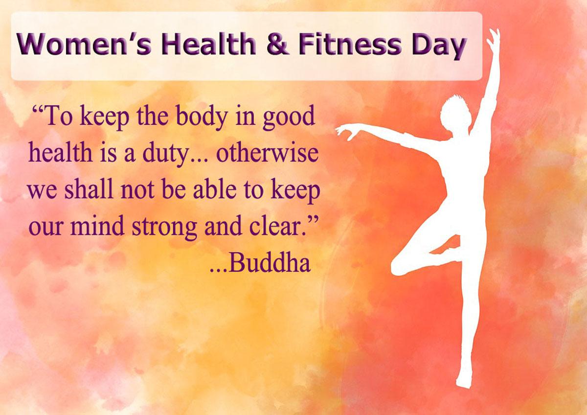 National Women's Health & Fitness Day – September 25th