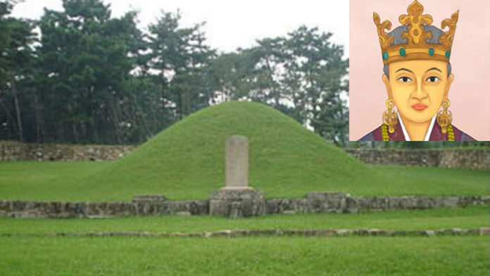 Heo-hwang-ok memorial