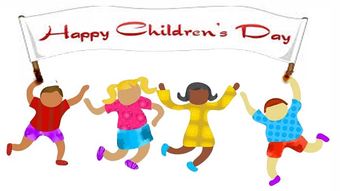 Children Day card