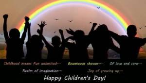 Children Day card