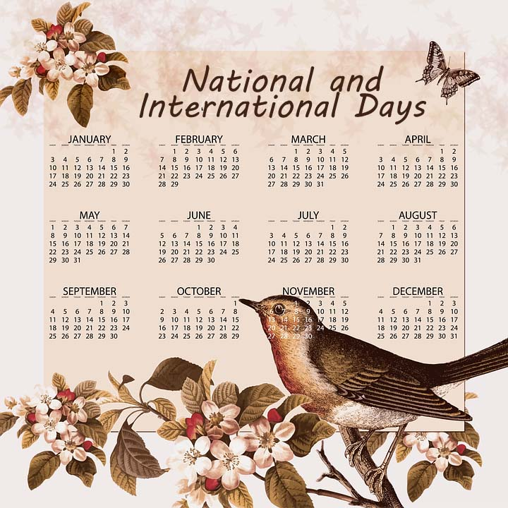 List of Important Days – National and International