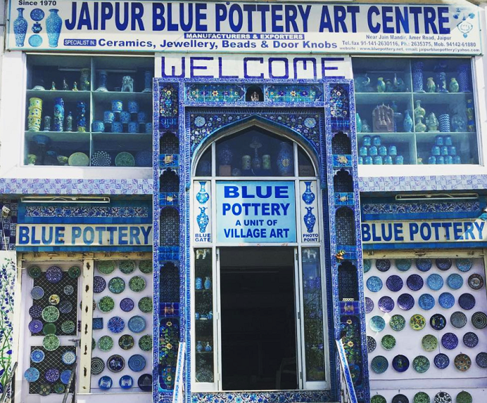 Jaipur Blue Pottery Art Center