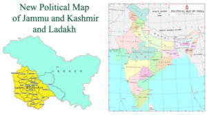 New Political Map of India