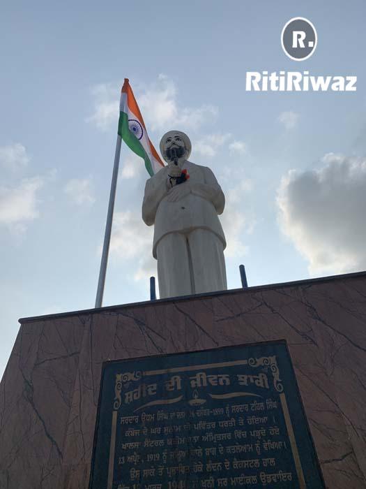 Statue of Sardar Udham Singh Sunam