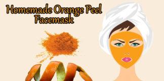 Orange peel facemask