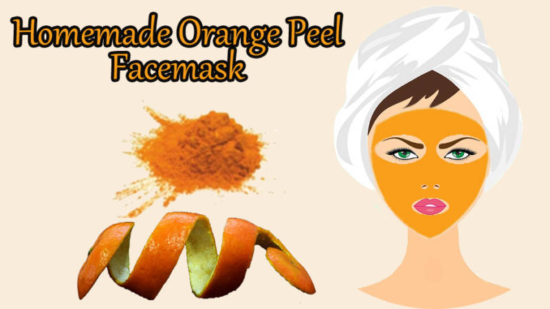 Orange Peel  Face-mask For Skin