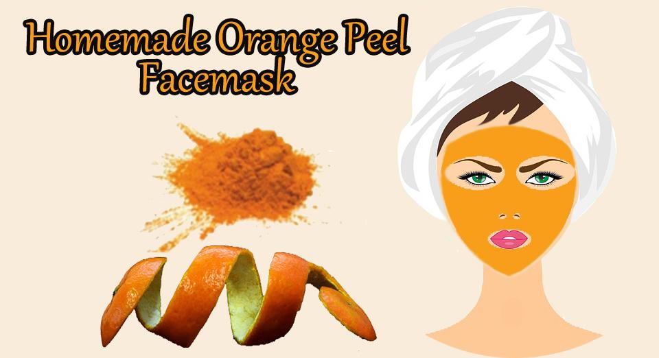 Orange Peel  Face-mask For Skin