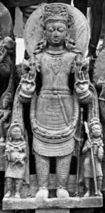 Surya, stone image from Deo-Barunarak, Bihar,