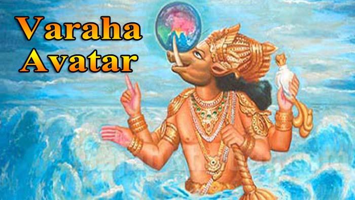 Varaha Avatar – The Boar