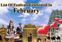Festival in February