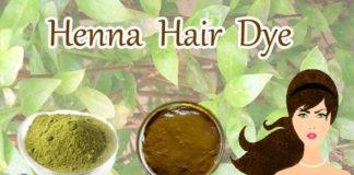 Henna as hair dye
