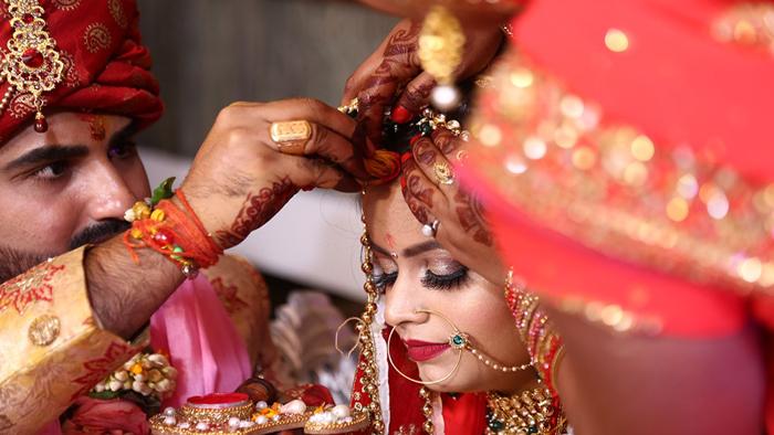 Hindu and Muslim Wedding in India