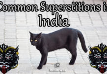 Common superstition in India