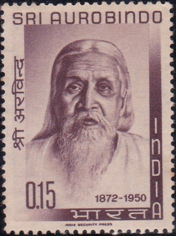 Sri Aurobindo India Stamp 1964
