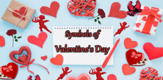 Symbols of Valentine's Day