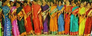 Telangana Women Saree