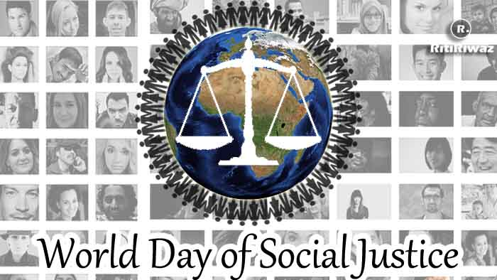 World Day of Social Justice – February 20