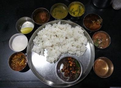 Manipur Thali
