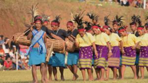 Meghalaya Wangala festival