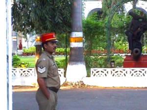 pondicherry policeman