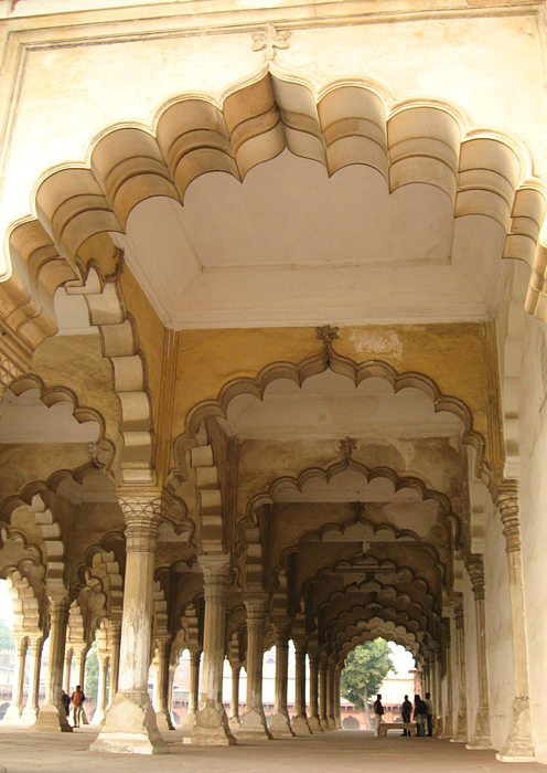 Agra Fort inner view