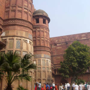 Agra Fort outer view