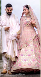Anushka Sharma lehenga