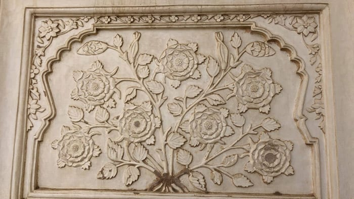 Bibi Ka Maqbara carving