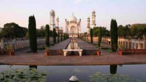 Bibi Ka Maqbara image of Taj Mahal