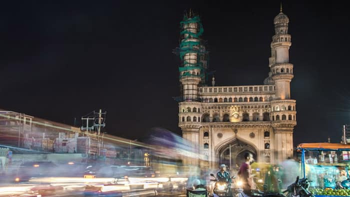 Charminar – Hyderabad's four towers
