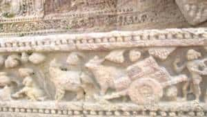 Engraving in Sun Temple