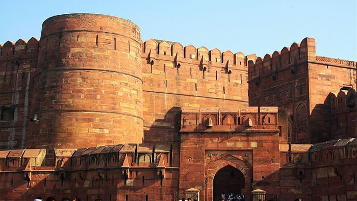 Entrance of Agra Fort