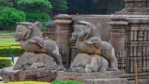 Entrance of Konark Temple