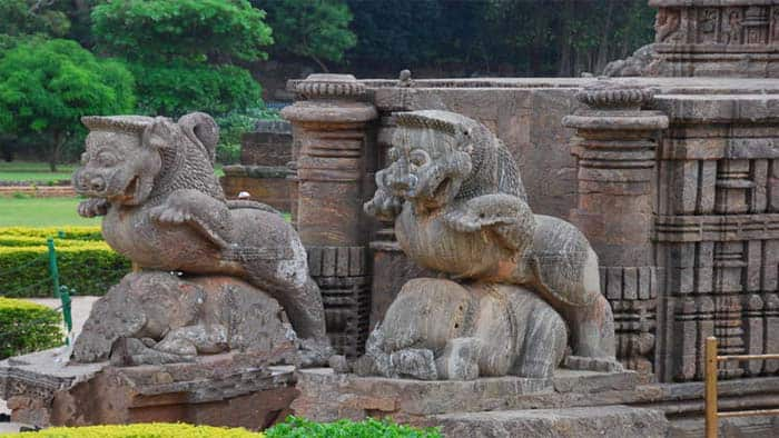 Entrance of Konark Temple