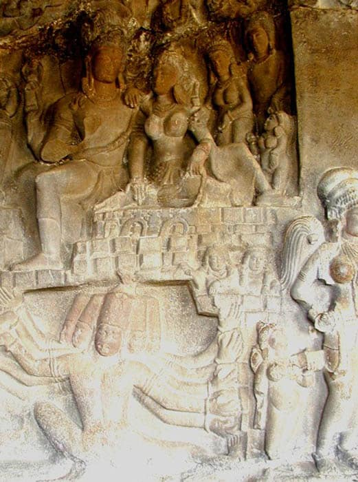 Hindu Temple at Ellora
