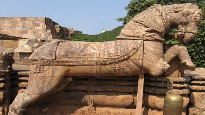Horse in Sun Temple, Konark