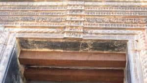 Iron Beams in Sun Temple
