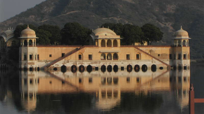 Jal Mahal reflection