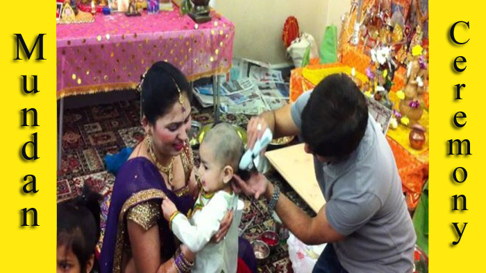 Mundan Or Chudakarana Ceremony