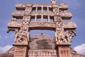 Pillar of sanchi Stupa