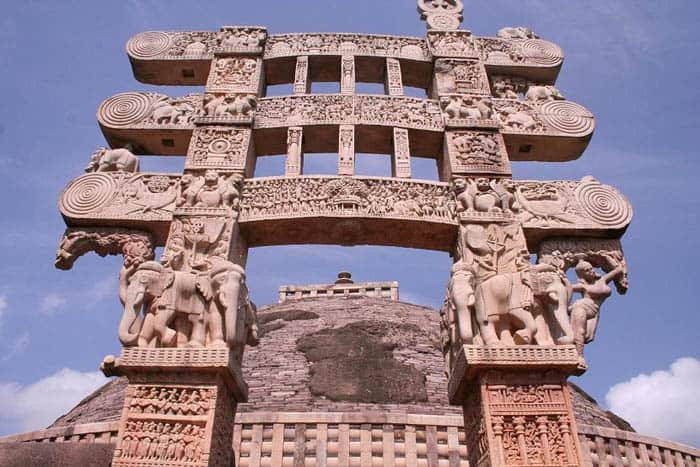 Pillar of sanchi Stupa