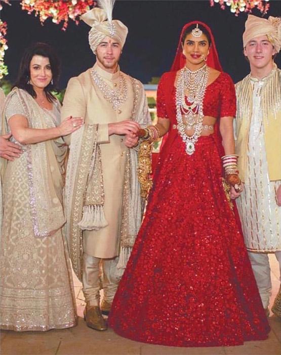 Priyanka Chopra as bride
