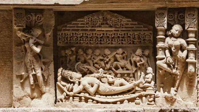 Rani ki Vav Sleeping Vishnu